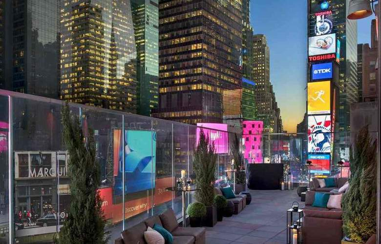 Marriott Marquis Times Square - Terrace - 8