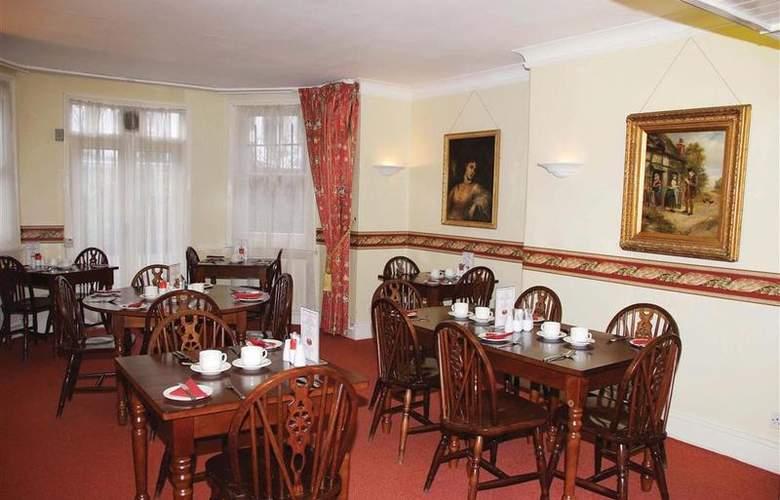 Best Western Swiss Cottage - Restaurant - 20