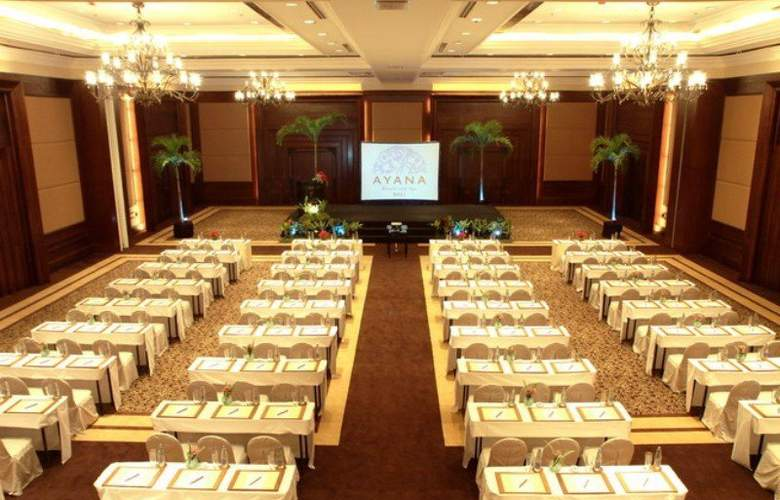Ayana Resort and Spa - Conference - 6
