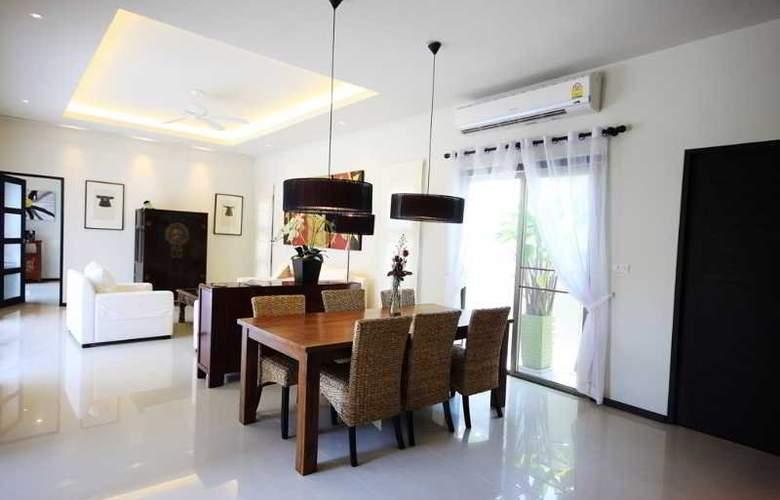 Two Villas Holiday Oriental Style Nai Harn Beach - Room - 4