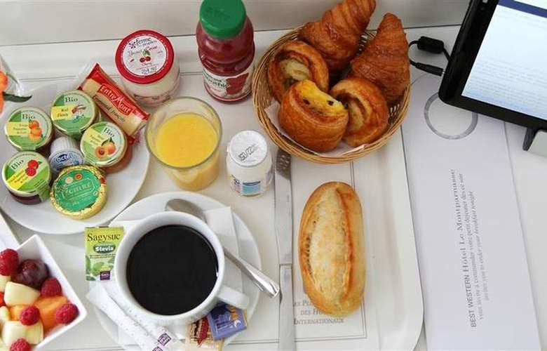 Best Western Hotel Le Montparnasse - Restaurant - 88