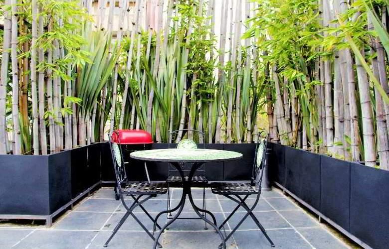 Suites Hipólito Taine - Terrace - 10