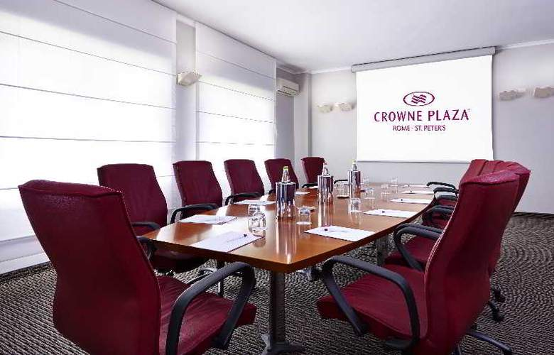 Crowne Plaza Rome-St. Peter's - Conference - 4
