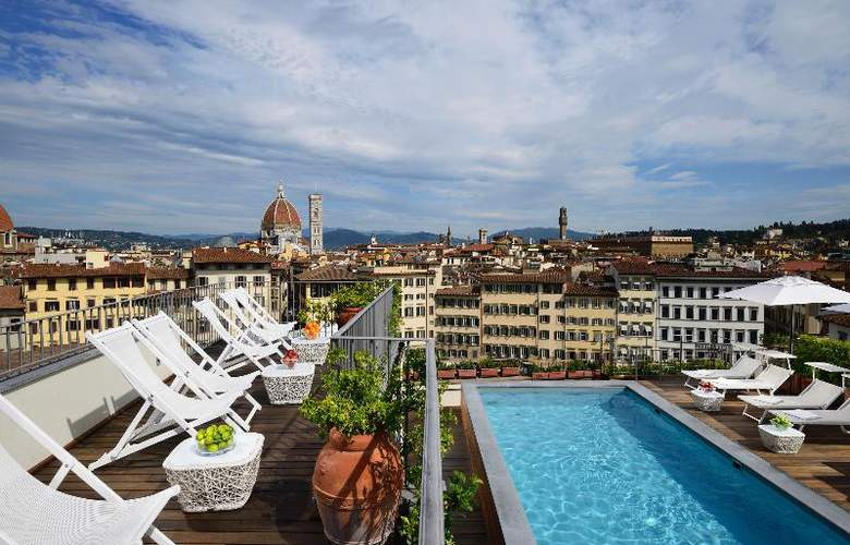 Grand Hotel Minerva - Terrace - 34