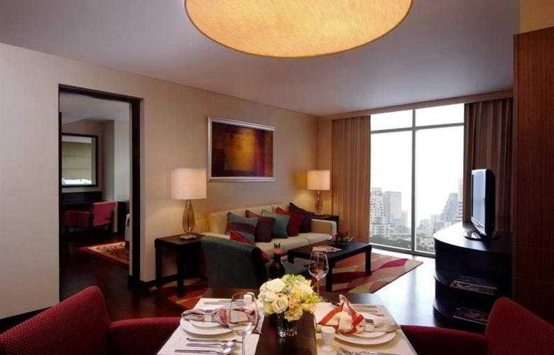 Marriott Executive Apartment Sathorn Vista Bangkok - Room - 6