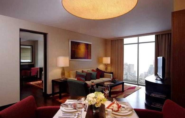 Marriott Executive Apartment Sathorn Vista Bangkok - Room - 3