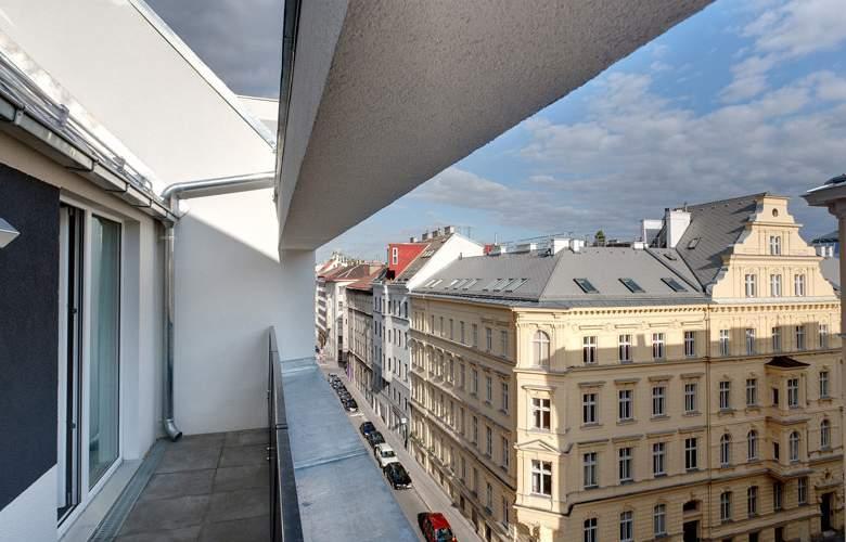 Meininger Wien Downtown Franz - Terrace - 4