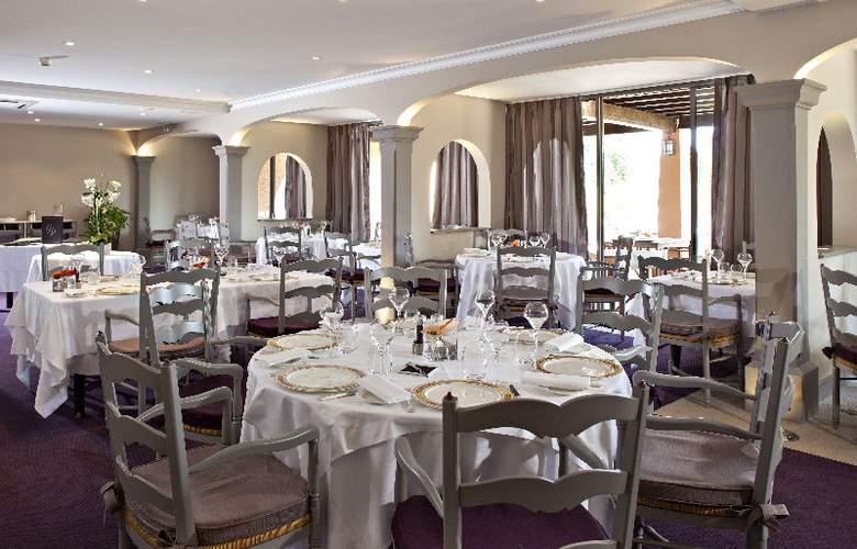 Best western Golf Hotel De Valescure - Restaurant - 10