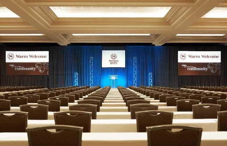 Sheraton San Diego Hotel & Marina - Conference - 46