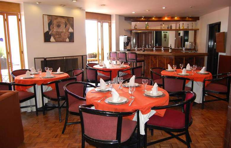 Best Western Real de Puebla - Restaurant - 89