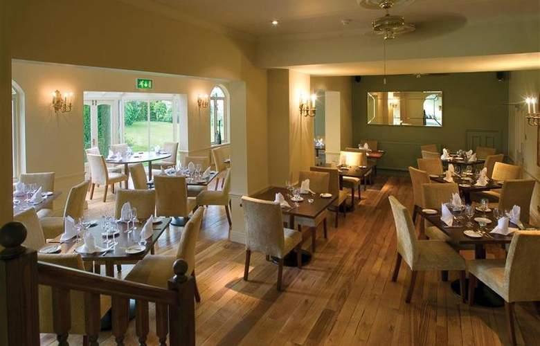 Hallmark Llyndir Hall, Chester South - Restaurant - 23