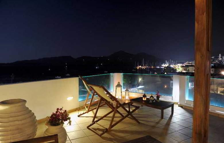 Ostria Hotel-Milos - Terrace - 3