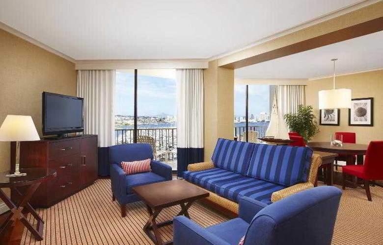 Sheraton San Diego Hotel & Marina - Room - 21