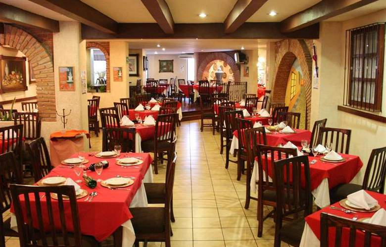 Best Western Real de Puebla - Restaurant - 88