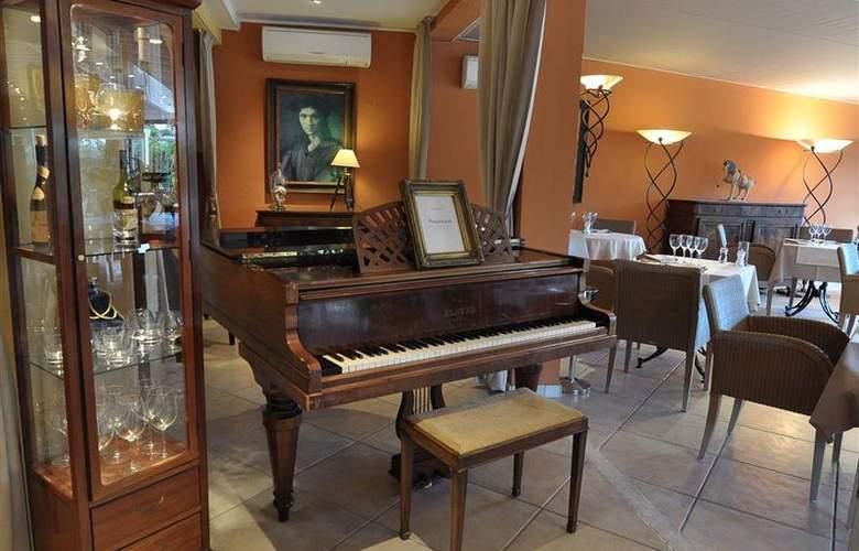 Best Western Hotel Montfleuri - Restaurant - 111