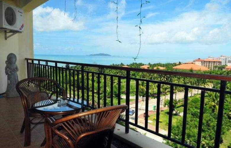 Phoenix Rujia Sea View Holiday Apartment - Terrace - 7