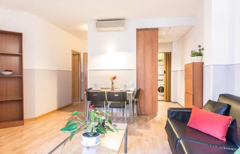 Sata Apartamentos Park Guell Área - Room - 12