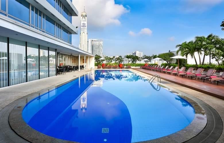 Eastin Hotel Makkasan Bangkok - Pool - 5