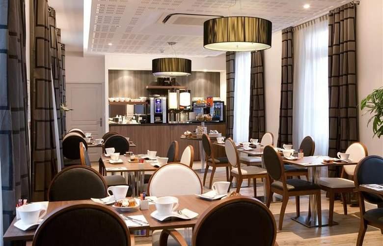 Best Western Blois Chateau - Restaurant - 21
