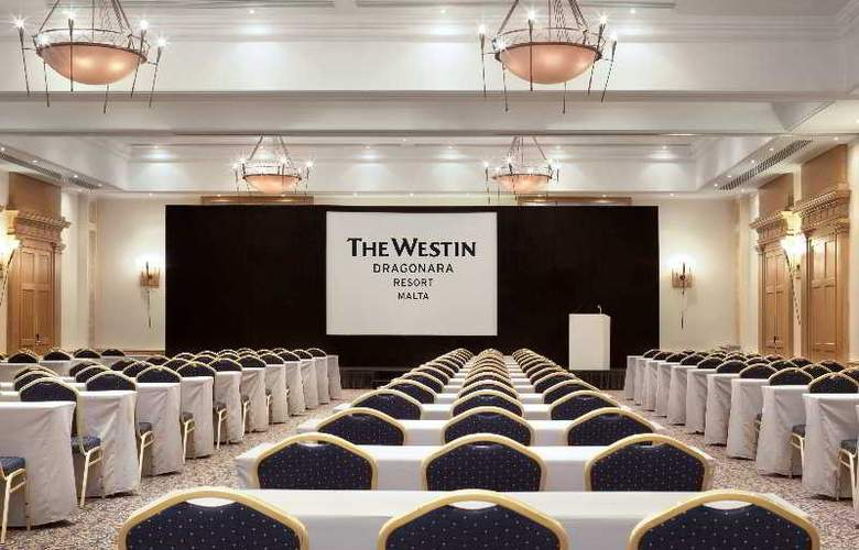 The Westin Dragonara Resort - Conference - 5