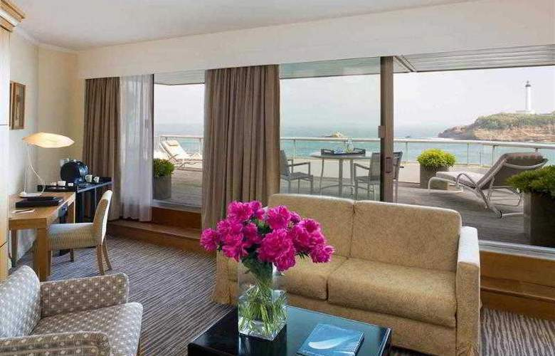 Sofitel Biarritz le Miramar Thalassa Sea & Spa - Hotel - 6