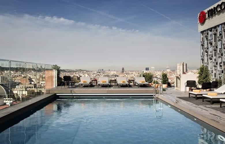 NH Collection Barcelona Gran Hotel Calderón - Pool - 16