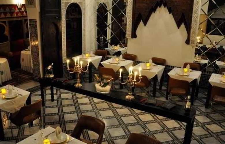 Riad Maison Bleue & Spa - Restaurant - 7