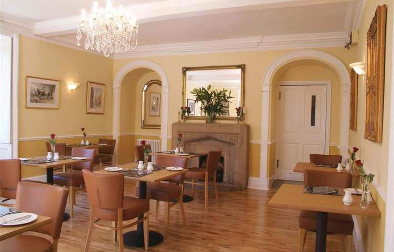 Best Western Henbury Lodge Hotel - Restaurant - 90