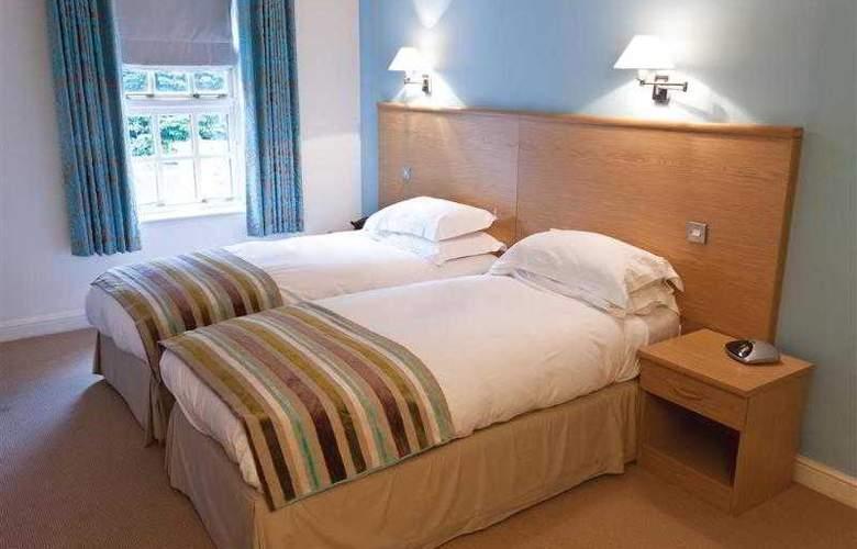 Best Western Mosborough Hall - Hotel - 94