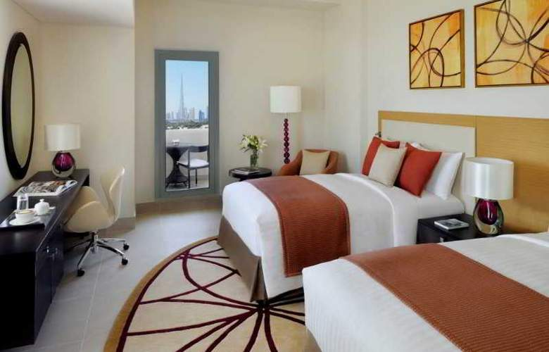 Marriott Executive Apartments Dubai Al Jaddaf - Room - 9
