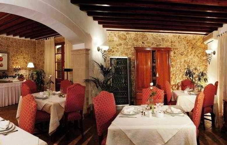 Cas Comte Petit hotel & Spa - Restaurant - 8