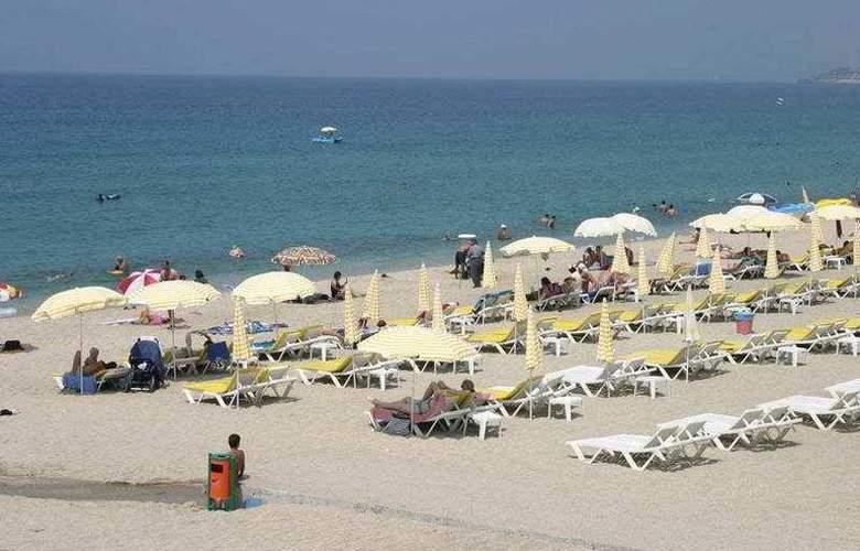 Kleopatra Ikiz Hotel - Beach - 8