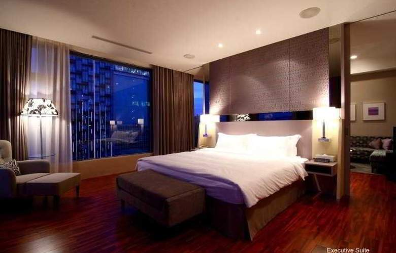 Hung'a Mansion Hotel Taichung - Room - 7