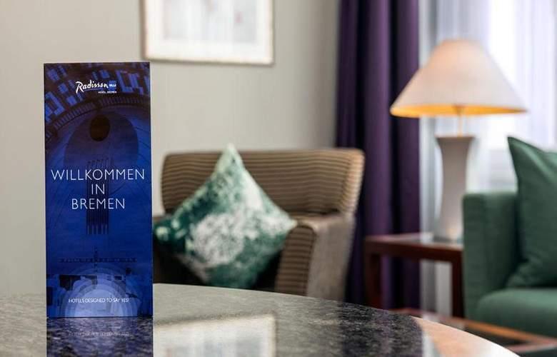 Radisson Blu Hotel Bremen - Room - 2