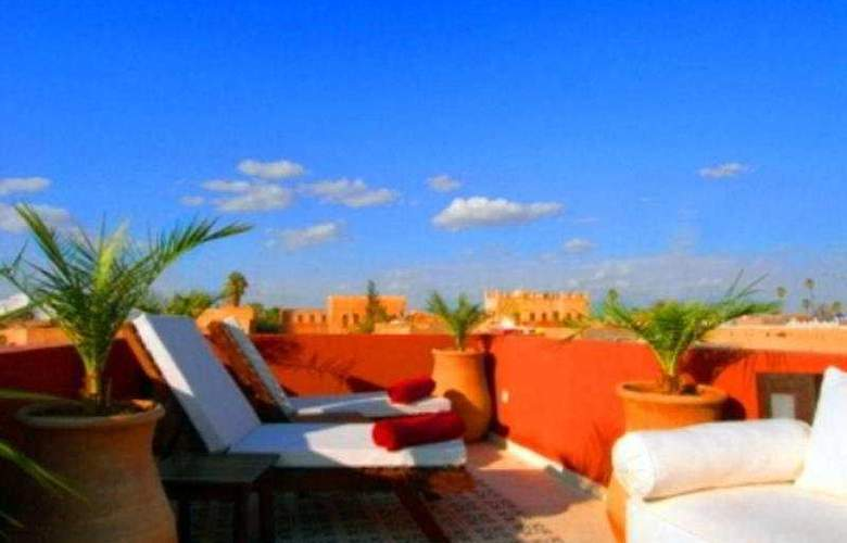 Riad Al Mansoura - Terrace - 11