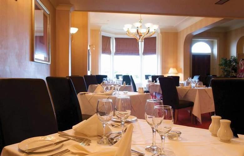 Best Western Glendower - Restaurant - 170