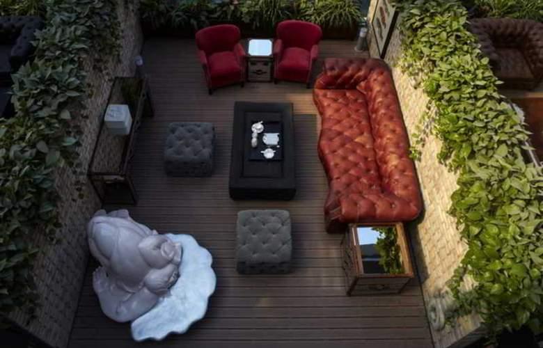 Hotel Eclat Beijing - Terrace - 7