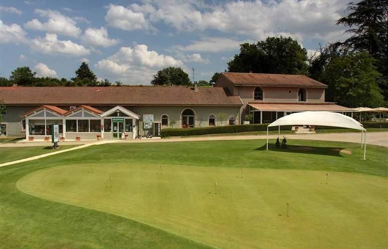 Best Western Hotel Golf D'Albon - Sport - 23