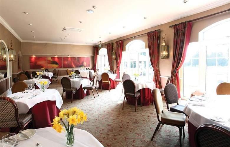 Best Western Willerby Manor Hotel - Restaurant - 46