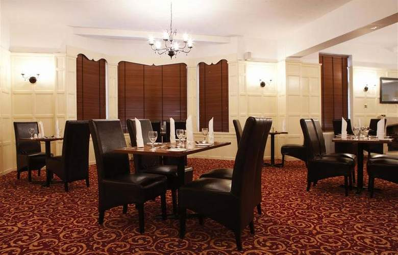 Best Western Linton Lodge Oxford - Restaurant - 159