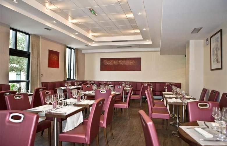 Best Western Hotel Des Francs - Restaurant - 27