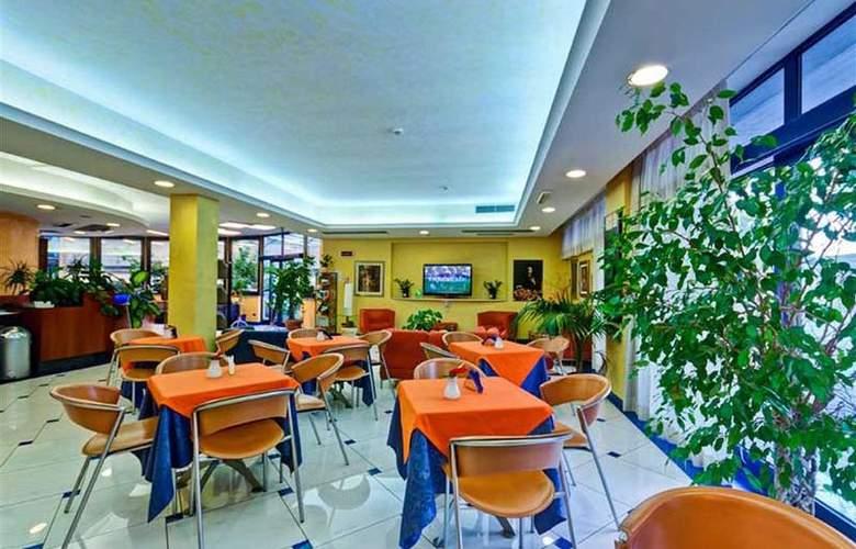 Best Western Blu Hotel Roma - Restaurant - 101