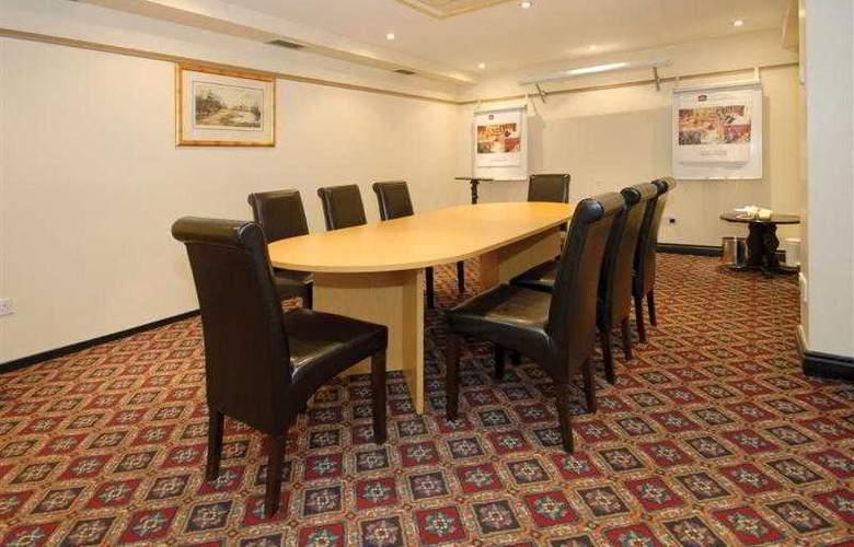 Best Western Donnington Manor - Hotel - 18