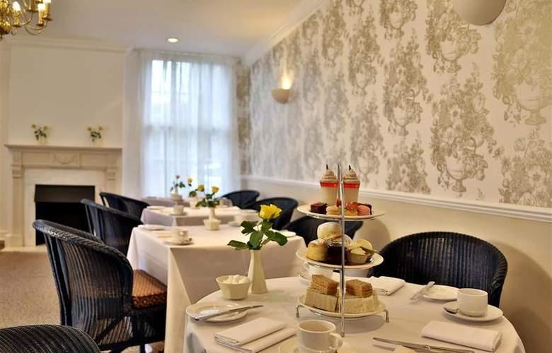 Best Western Grosvenor - Restaurant - 22