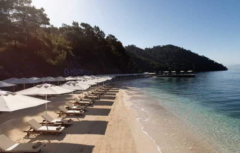 D-Resort Gocek - Beach - 23