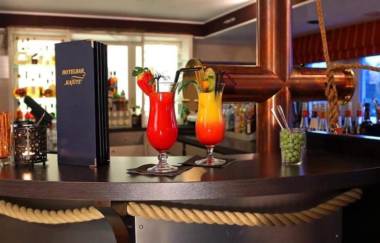 Best Western Hanse Hotel Warnemuende - Bar - 63