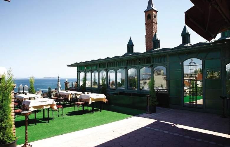 Sultanahmet Palace Istanbul (Otel Sultanahmet Sarayı) - Terrace - 10