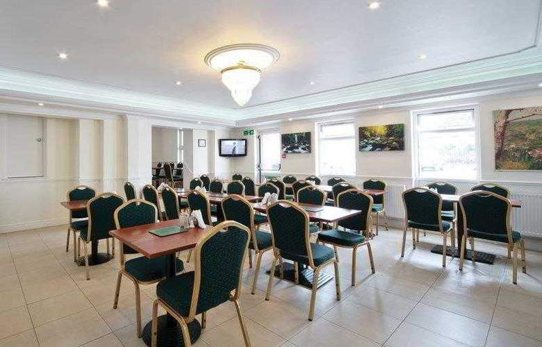 Best Western London Highbury - Restaurant - 35