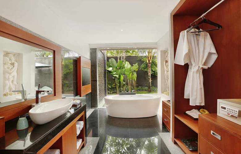 The Leaf Jimbaran Bali Luxurious Villa & Spa Retreat - Room - 11