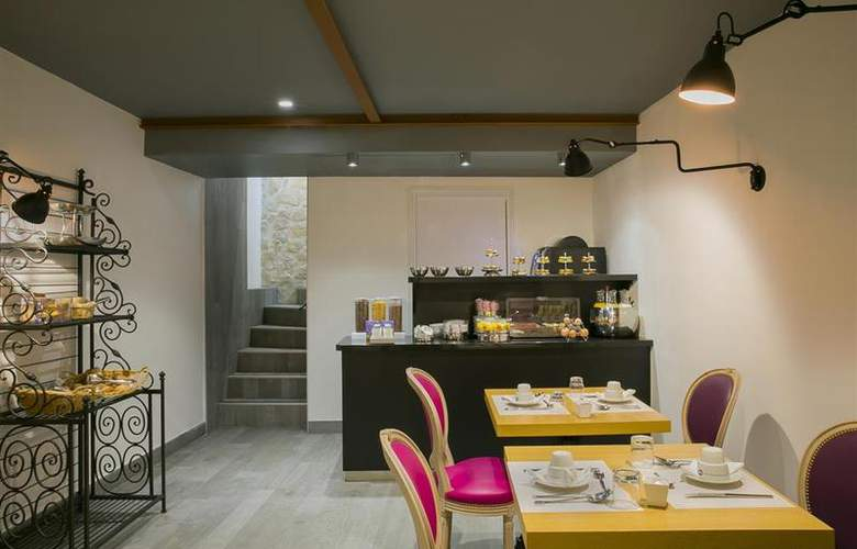 Best Western Premier Marais Grands Boulevards - Restaurant - 26